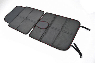 Black Infant Baby Easy Clean Non Skid watherproof Car Seat Protector Mat Pad New