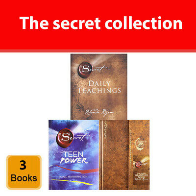 The secret collection 3 books set pack daily teachings, teen power, gratitude HB
