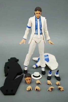 Michael JACKSON MJ PVC SMOOTH CRIMINAL MOONWALK Modelo móvil ACCIÓN Figura