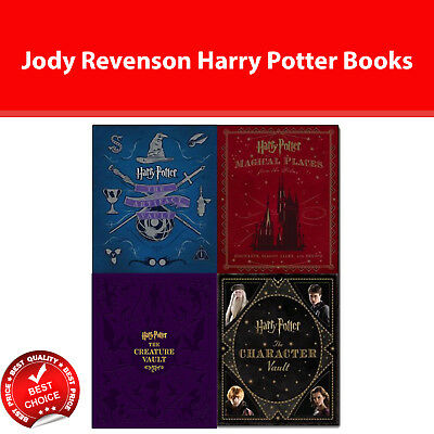 Harry Potter Collection 4 Books set by Jody Revenson pack The Artifact Vault NEW