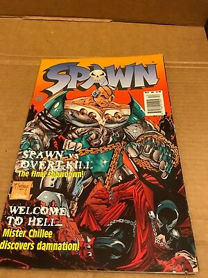 Spawn Issue No.4, January 1998