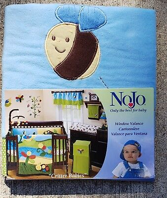 """Adorable NoJo """"Critter Babies"""" Window Valance"""