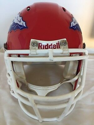 American Football Riddell Full Size Authentic Helmet South City Chiefs