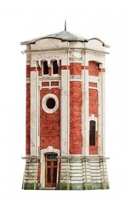 Cardboard model kit. Railway station's water tower. Scale 1/87 HO.
