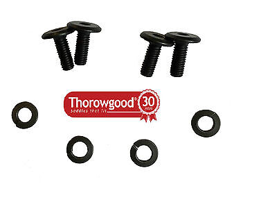 Washers /& Allen Hex Key NEW Genuine Thorowgood Saddle Replacement Gullet Screws