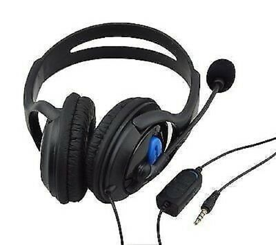 Gaming Headset With Mic + Volume Control For XBOX ONE & Sony Play Station 4