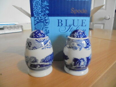 BNWT Spode Blue Italian sale and pepper sets boxed