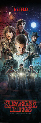 Stranger Things One Sheet Netflix 53 X 158 Cm Door Poster New Official Merch