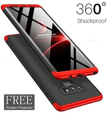 Shockproof 360° Case Cover Samsung Galaxy S9 S8+Full Coverage Screen Protector