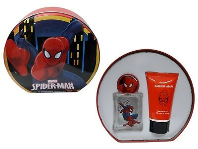 Spider-Man Cofanetto Eau De Toilette 50Ml + Shower Gel 75Ml
