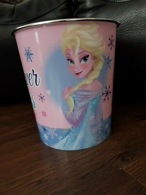 Kids Bedroom Frozen Elsa Anna Disney Princess Waste Bin