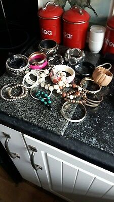 Large Job Lot of Fashion Bracelets