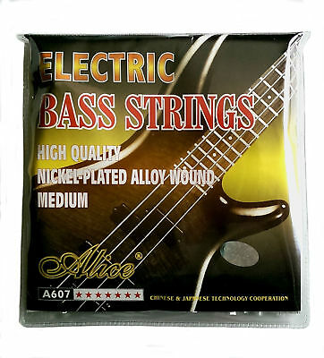 Brand New Alice A607 Electric Bass Guitar String Set