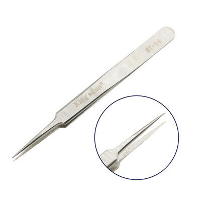 ST-14 Stainless Steel Tweezers For Electronic Repair, Eyelashes Extensions