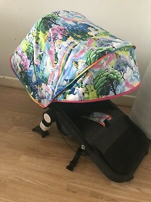 Bugaboo Cameleon 1 2 3 Custom Made With Extendable Front Section Hood Pads Bow