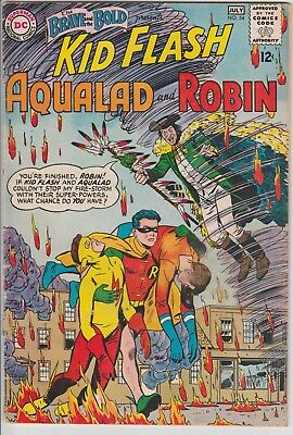 1964 DC Comics The Brave and the Bold # 54 1st Teen Titans