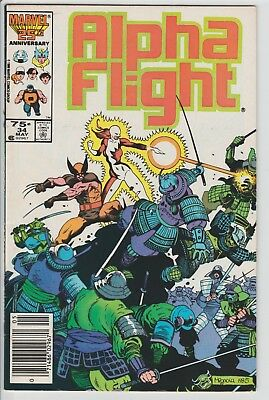 Alpha Flight #34 2Nd App Lady Deathstrike Wolverine Mignola Logan Movie!