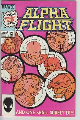 Alpha Flight #12 (1984), (Death of Guardian)