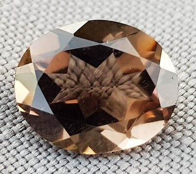 WaterfallGems 4.08ct Smoky Quartz, 12x9.9mm