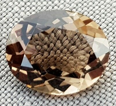 WaterfallGems 4.28ct Smoky Quartz, 12x9.8mm