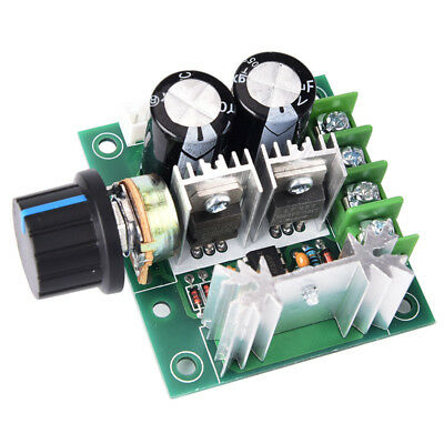 12V~40V 10A PWM DC Motor Speed Control SwitchController Volt Regulator Dimmer Ff