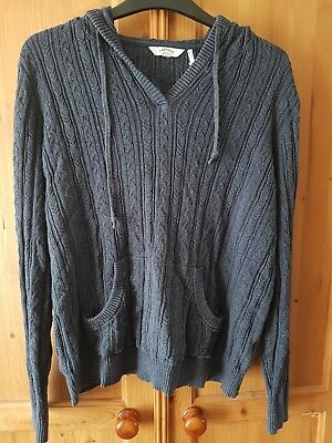 Ladies Fat Face knitted Hoodie, Size 12