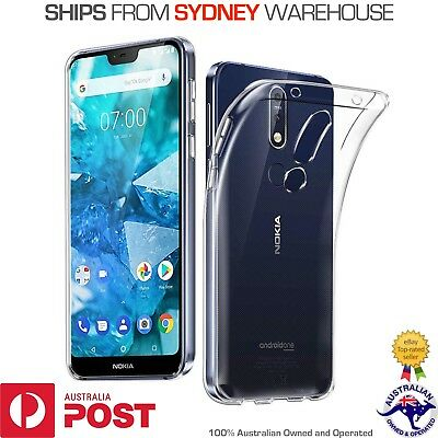 Clear TPU Case Slim Soft Silicon Gel Cover for Nokia 9 8 5 7.1 6.1 3.1 2.1 PLUS