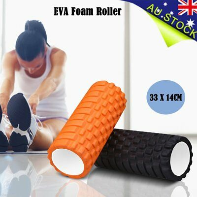 Fitness EVA Yoga Foam Roller F Home Exercise Gym Pilates Physiotherapy Massage R