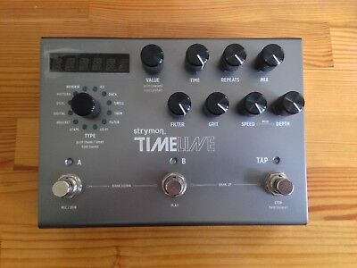 Strymon Timeline Delay Guitar Effects Pedal (with original power supply)
