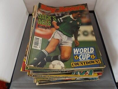 Collection Of 61 Issues Of Roy Of The Rovers Comic From 1988 1989 1990 Football