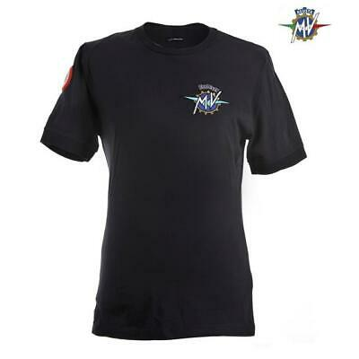 Mann T-Shirt Institutionelle Mv Agusta Blaue Farbe Tg. S Cotone 100% Idea
