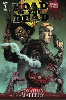 Road of the Dead Highway to Hell #1 Cover A IDW 2018 MN+ 9.6 CBSI TOP 10 HOT!!