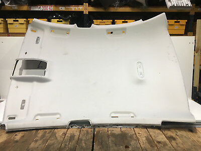 2009 Audi A4 Saloon Roof Head Lining Genuine Part No 8K5867501