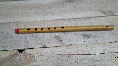 "2x Bamboo Flute Hand Carved Flute Recorder  /""C/"" Scale 9 Inches"