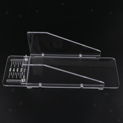 Multifunction Acrylic Soap Cutter Box Loaf Soap Cutter Mold DIY Cutting Tool
