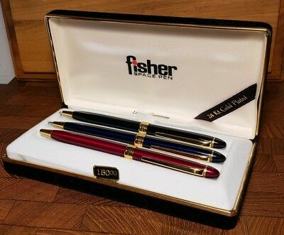 Nice Vintage NOS Fisher Space Pen & Pencil Set in Box