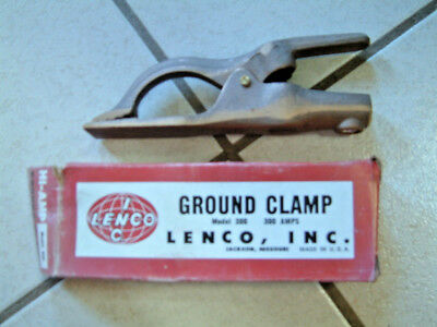 Welder Ground Clamp  NOS 300 amp