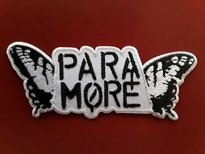 Paramore American Alternative Punk Rock Music Band Embroidered Patch Uk Seller