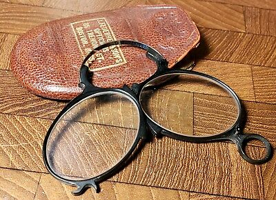 Unique Pair of Vintage B&L Bausch & Lomb Collapsible Glasses Frames