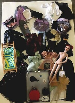Ashton Drake Gene Doll W Lot Of Tyler Wentworth Gene Outfits, Accessories Plus