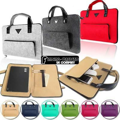 Universal Felt Carry Bag Sleeve Case For HP Stream/Chromebook Laptop Notebook