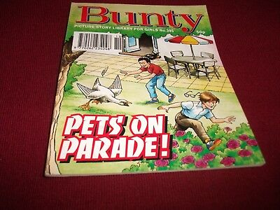 BUNTY  PICTURE STORY LIBRARY BOOK  from 1990's:- never been read! - mint condit!
