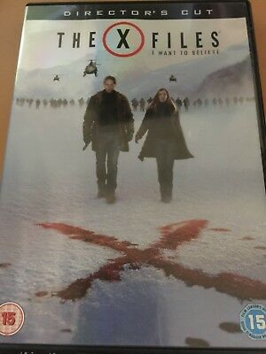 X-Files - I Want To Believe (DVD, 2008)