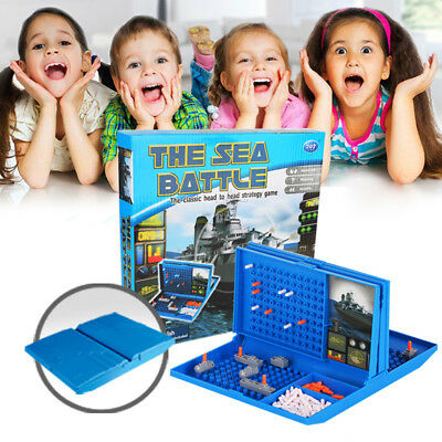 Classic Battleship Game Strategy Board Game Sea Battle Toy Retro Series Gifts