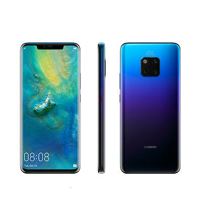 New Huawei Mate 20 Pro 256GB 8GB Twilight Dual SIM Unlocked - Free UK Delivery