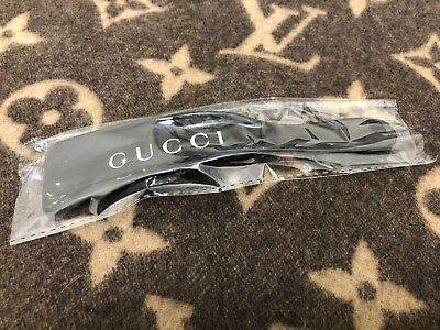 Gucci Plastic Shoe Horn In Black Color *new*