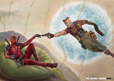 Marvel - Deadpool 2 Movie Poster Print - Matte Wall Art - Buy 2 Get 1 Free