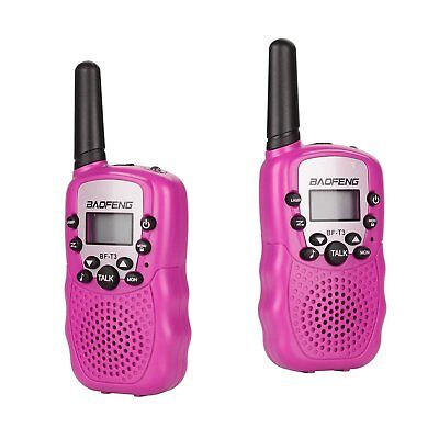 Kids Walkie Talkies 2 Way Radios Toys Gifts for Boys Girls Age 5 6 7 8 9 10 Pink