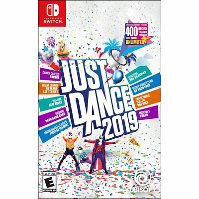 NEW JUST DANCE 2019 (Nintendo Switch 2018) SEALED! FAST FREE SHIPPING!!!