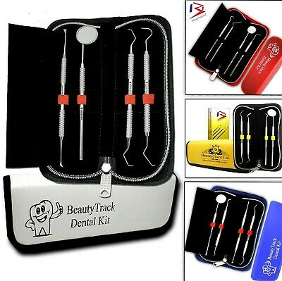 Dental Mirror Scalers Tweezers Tooth Picks Floss Scraper Teeth Pick Cleaning Set